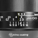 Irix lens depth of field and hyperfocal scales