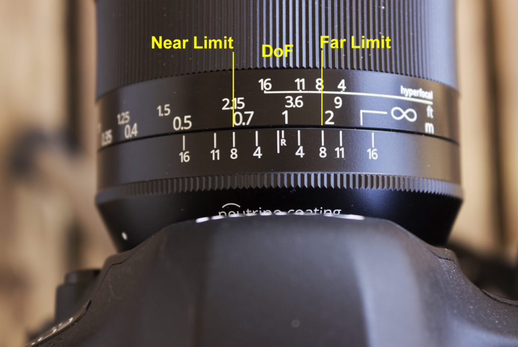 Focus stacking: second shot