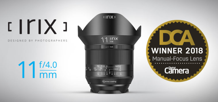 Irix 11mm DCA Award