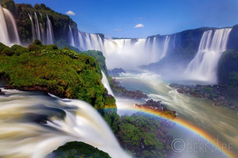Iguazu Falls and the Devils Throat, Iguazu National Park, Brazil. ©Richard Bernabe