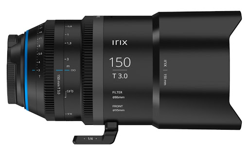 Irix 150mm T3 macro cinema lens