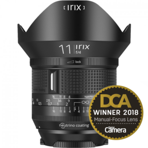 Irix 11mm f/2.4 wide angle lens