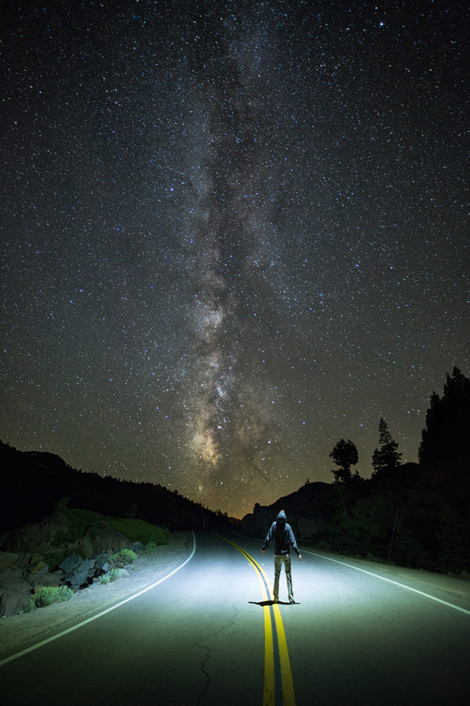 Milky Way selfie, ©High Sierra Visuals