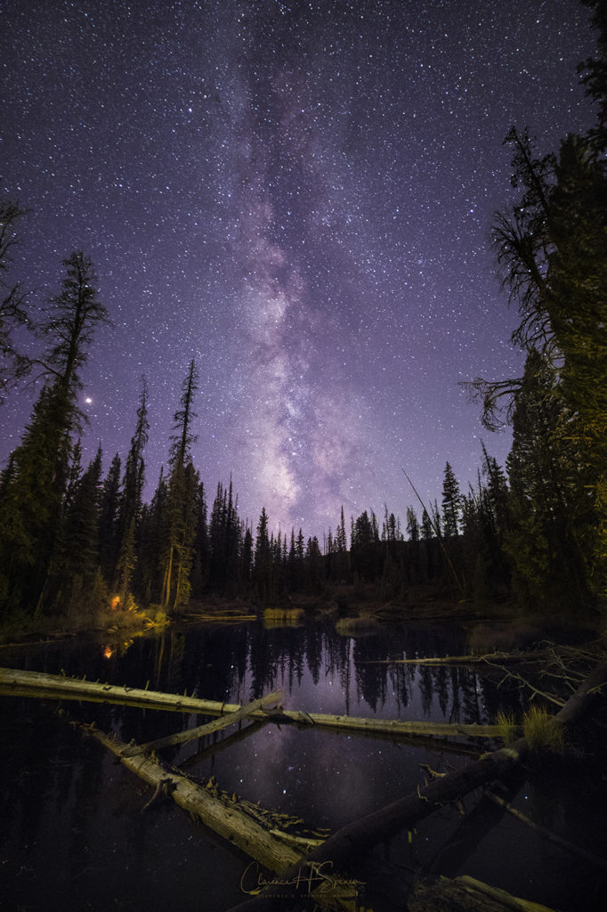 Milky Way, ©Clarence Spencer, captured with the Irix 15mm