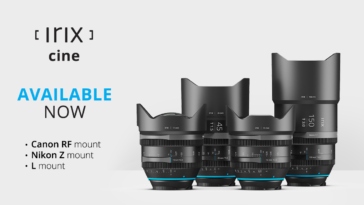 Irix Cine new lens mounts