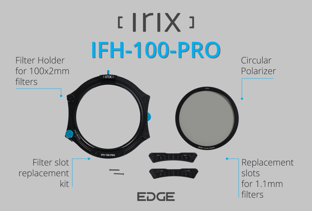 Irix Edge IFH-100-PRO What's included