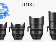 Videomaker Editors Choice Award for Irix Cine