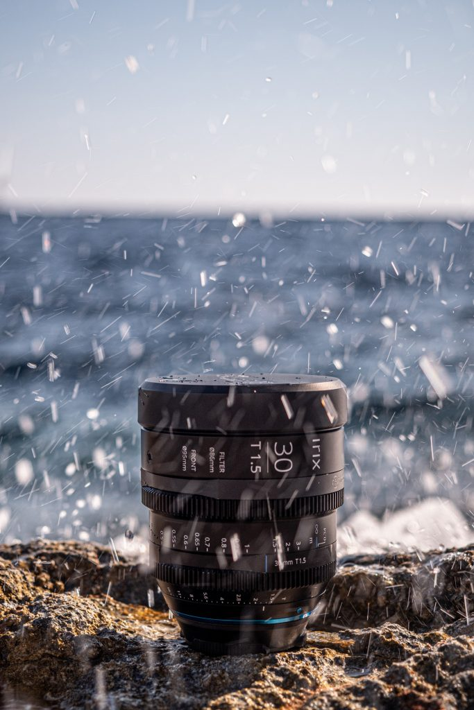 The Irix Cine 30mm is weather sealed